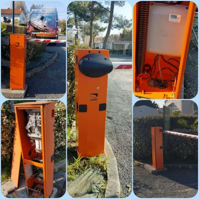 Kbelec moteur portail barriere automatique camping entree vendee la tranche sur mer